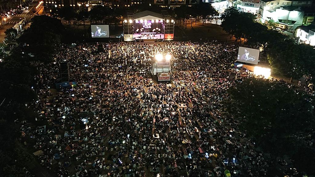 2019台中爵士音乐节十天吸引逾130万人盛情参与