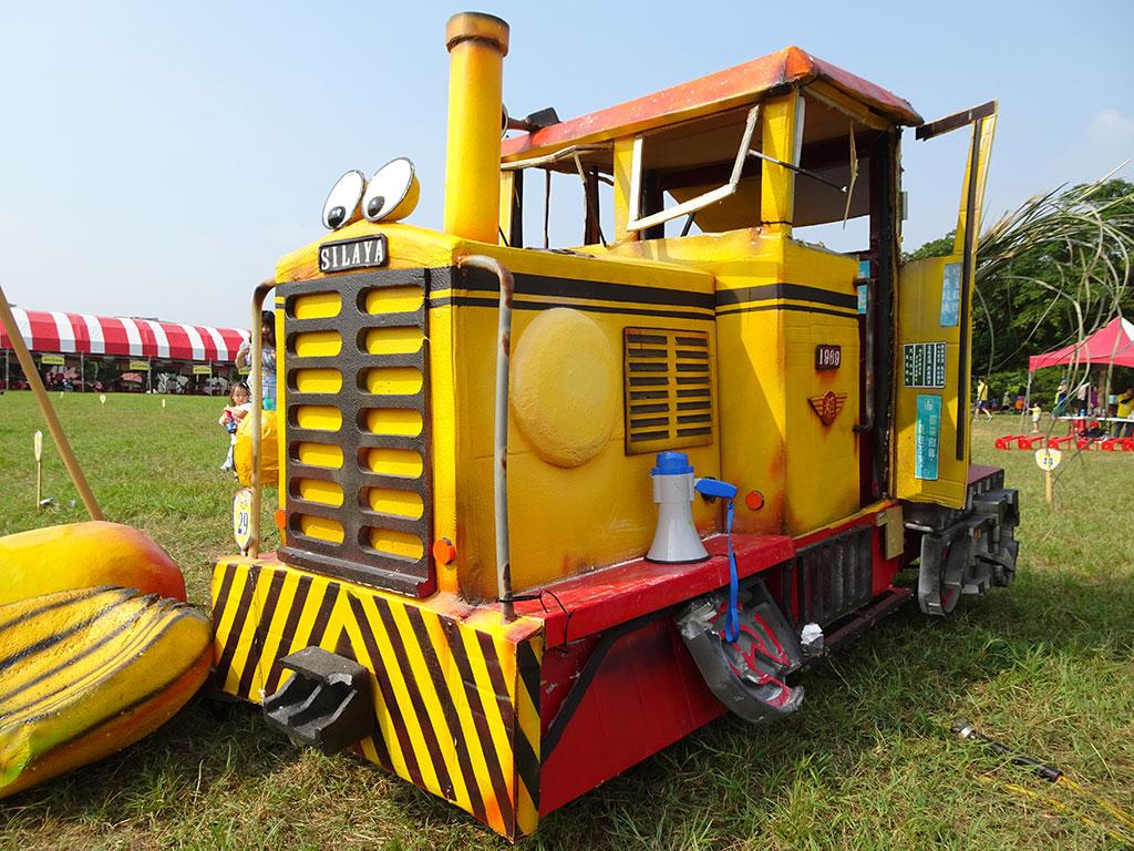 怀念复古的火车头,精巧细腻的设计,可见选手的用心。