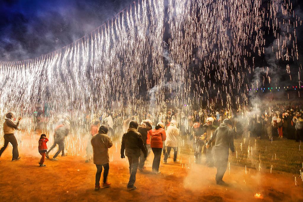 2020台湾慶元宵-塩水蜂炮(爆竹祭り)