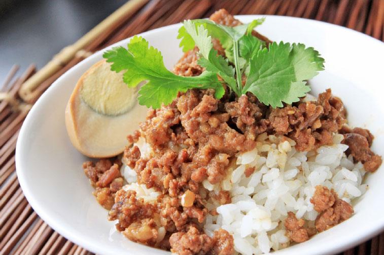 「十全十美」10大特色国饭-七里坡红藜养生料理-红藜卤肉饭