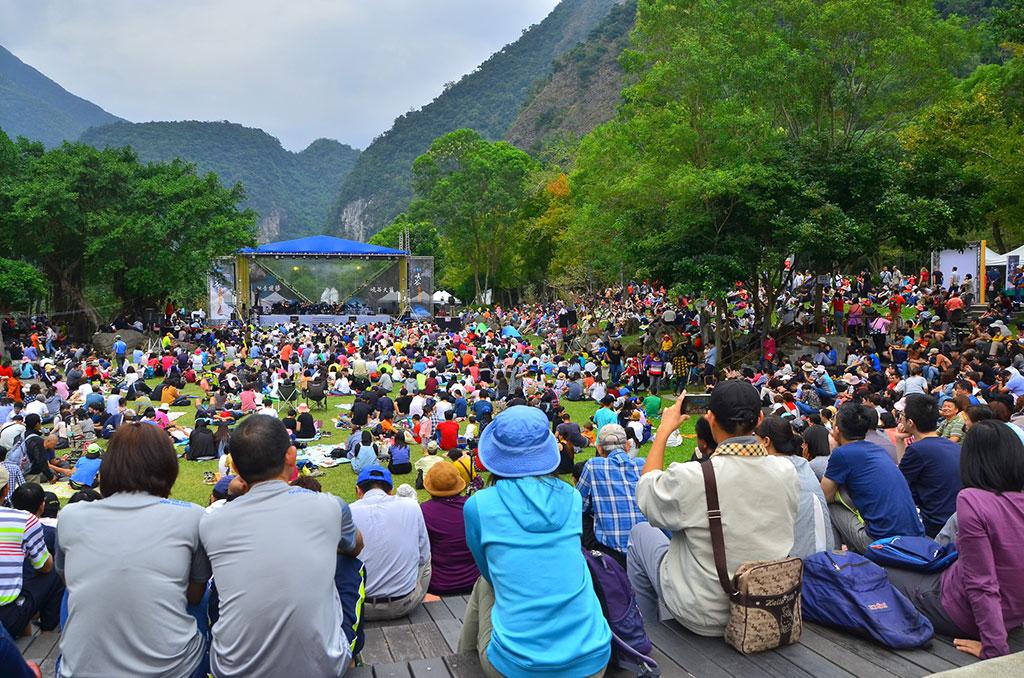 <p>太鲁阁峡谷音乐节</p>