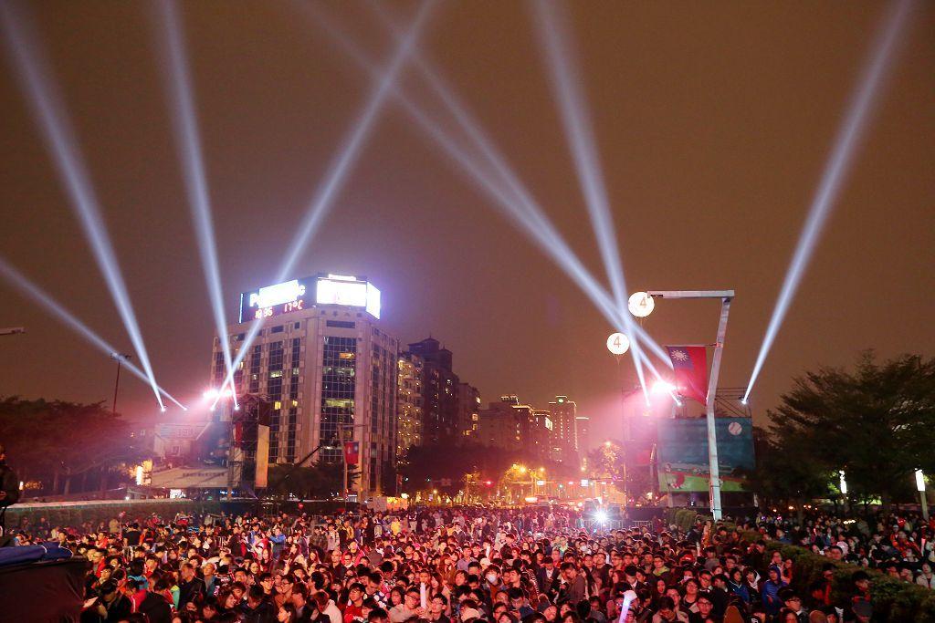 台北市年越しカウントダウンパーティー