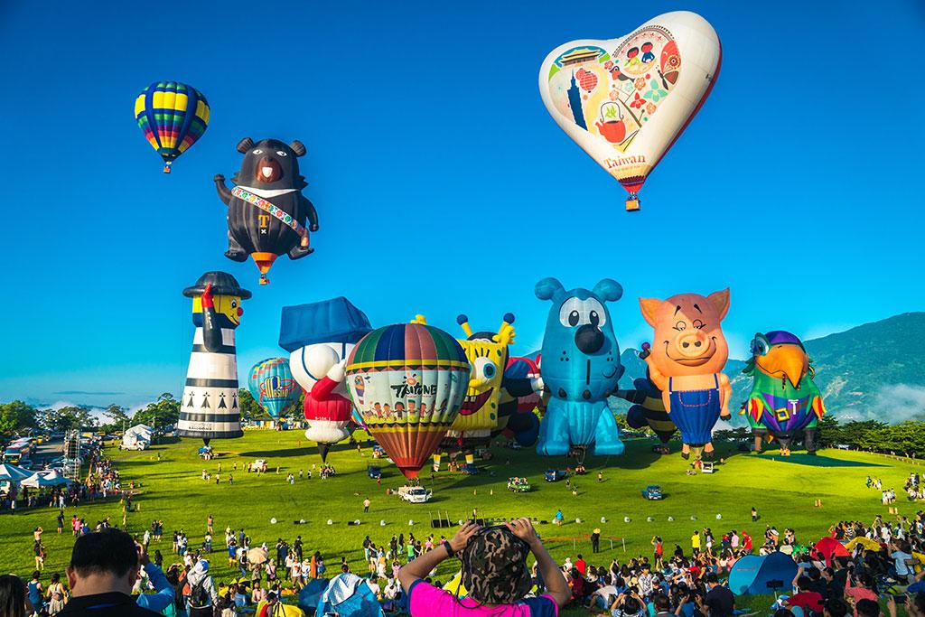 <p>2021台湾热气球嘉年华</p>