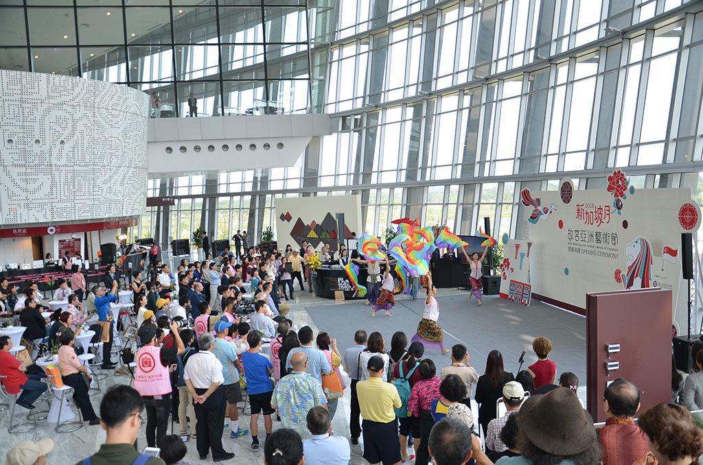 新加坡月開会式
