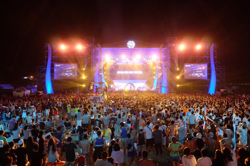 2017 貢寮国際海洋ロックフェスティバル (2)