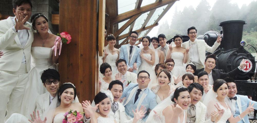 ロマンチック阿里山神木ウェディング 01