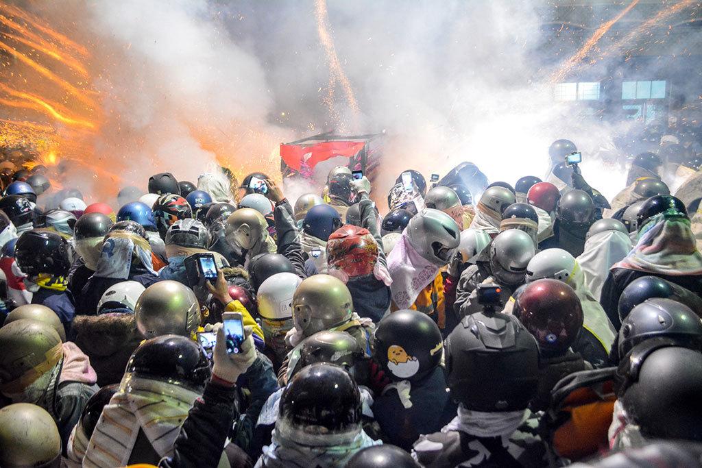 2019台湾慶元宵-塩水蜂炮(爆竹祭り)