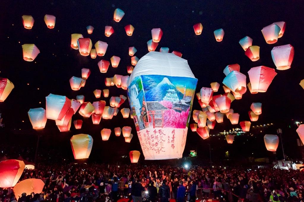 2017 平溪(ピンシー)国際天灯祭り  (1)