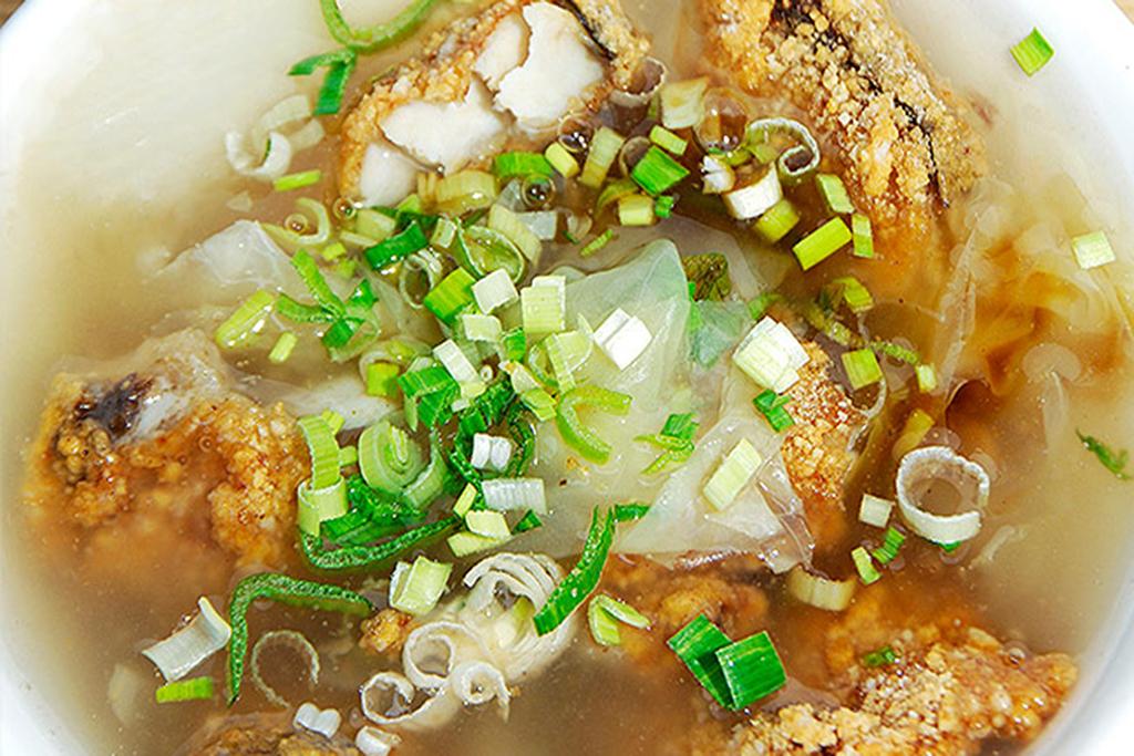 土魠魚羹(鰆のとろみスープ)