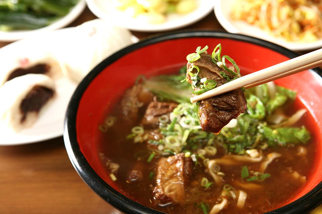 牛肉麵(ニョウロウミェン)