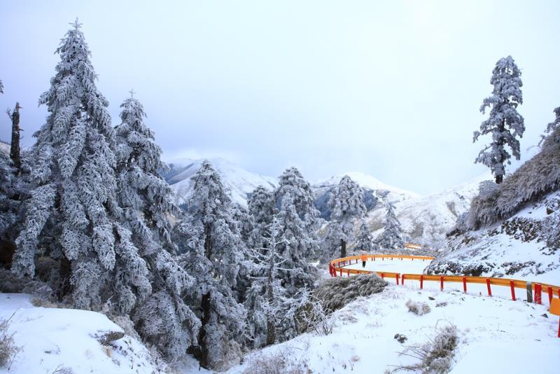 雪覇国家公園-武陵ビジターセンター