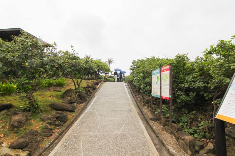 バリアフリーの通路