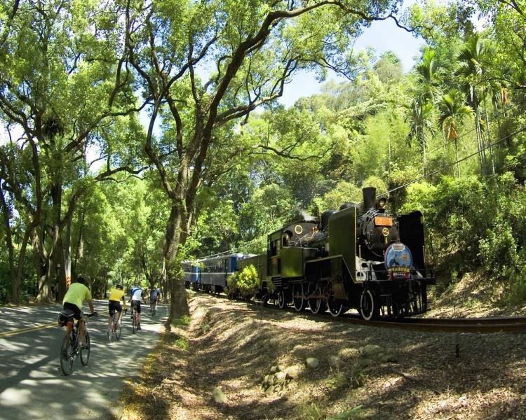 集集鎮―鉄道とサイクリングを楽しめる町