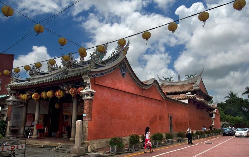 台南文化古跡の二日コース