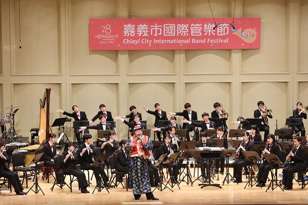 日本静岡大学管弦楽団  年度:2019  写真提供:嘉義市政府