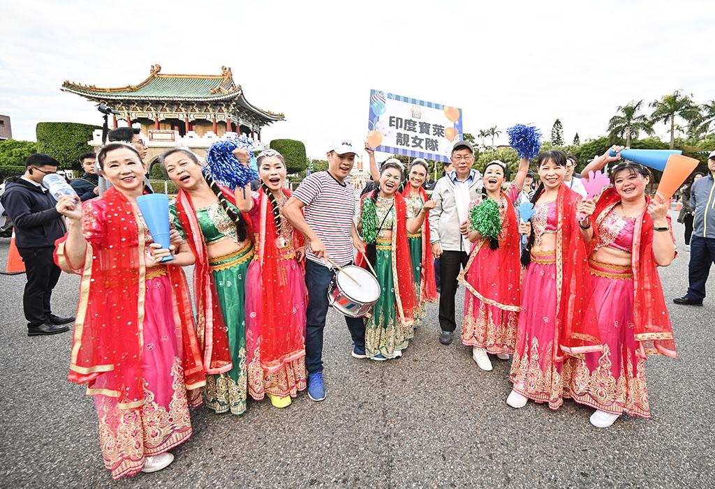 台北マラソン  年度:2019  写真提供:台北市政府体育局