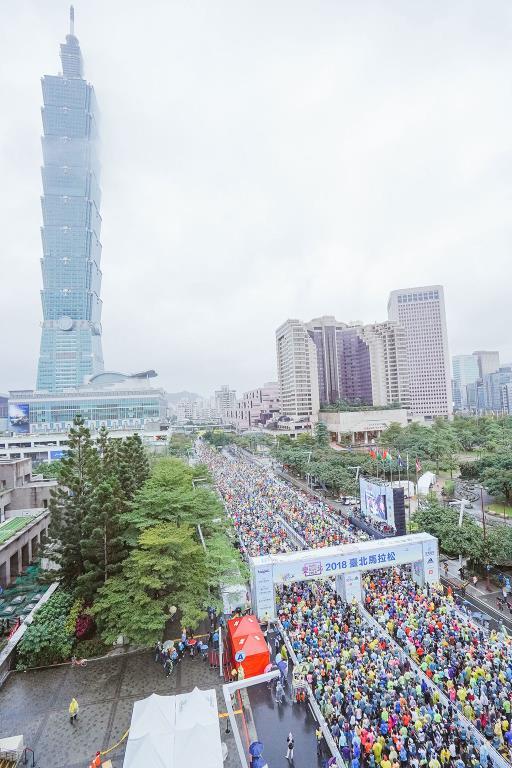 台北101  年度:2018  写真提供:台北市政府体育局