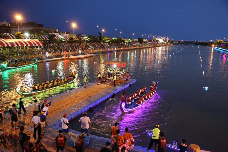 夜の競技会場  年度:2016  写真提供:彰化県政府