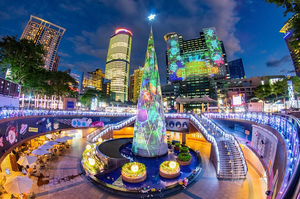 3D プロジェクションマッピングショー  年度:2018  写真提供:新北市政府観光旅遊局