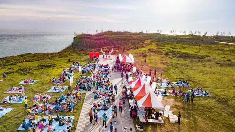 澎湖虎井嶼及び音楽会イベント  年度:2018  写真提供:交通部観光局