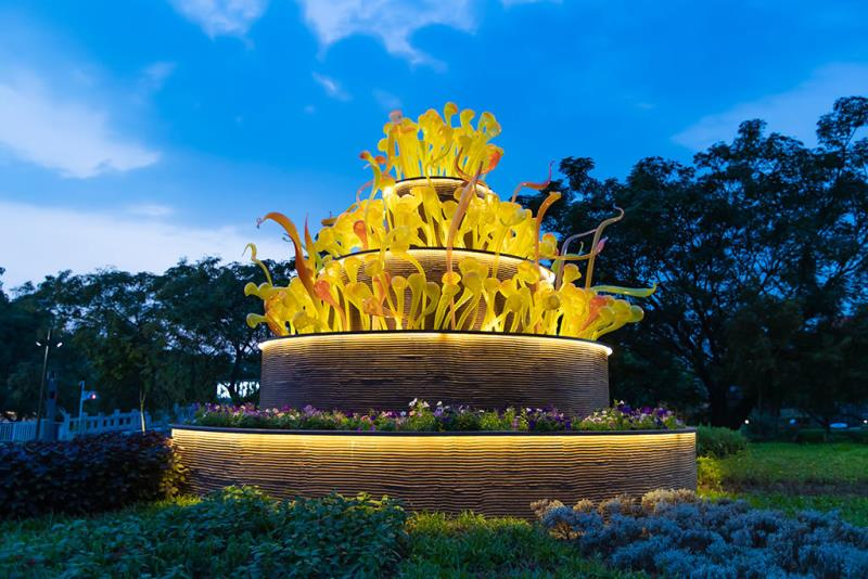 豊原葫蘆墩公園-甘い蜜の花園