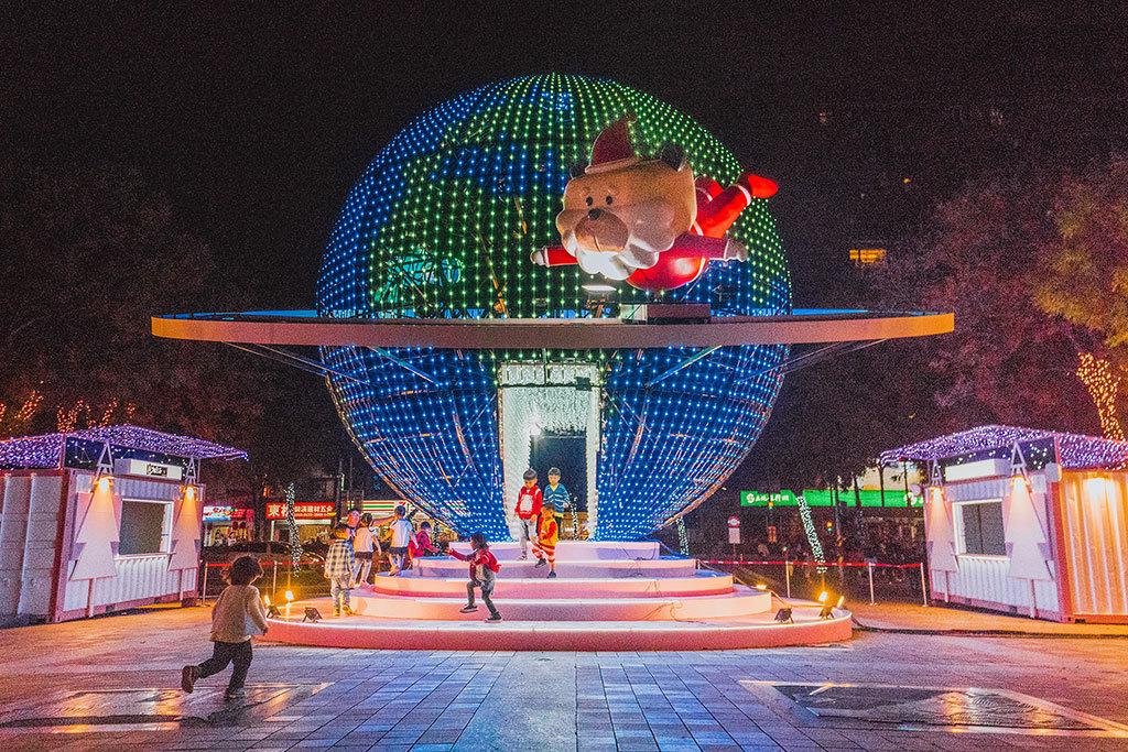 新北市ハッピークリスマス城  年度:2018  写真提供:新北市政府観光旅遊局