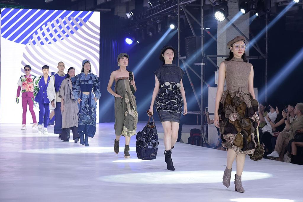 永續時尚(リサイクル・エコファッション)テーマショウ  年度:2019  写真提供:文化部