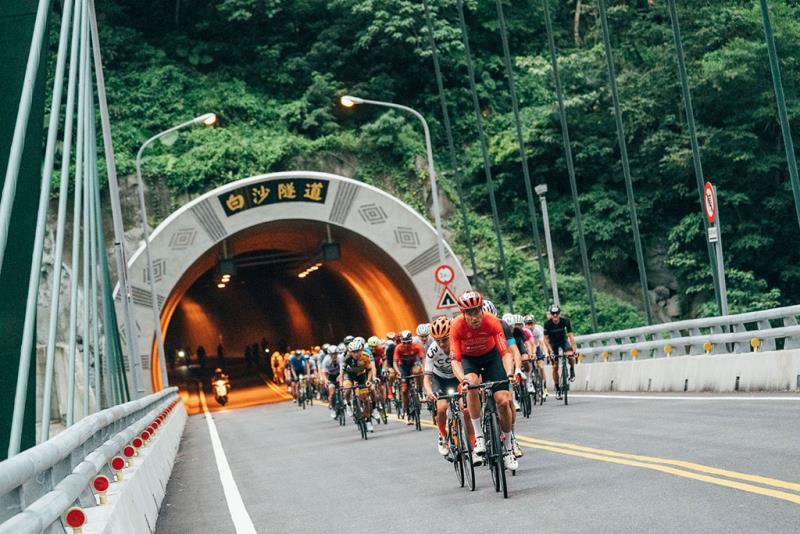 白沙トンネル  年度:2019  写真提供:中華民国自行車騎士協会