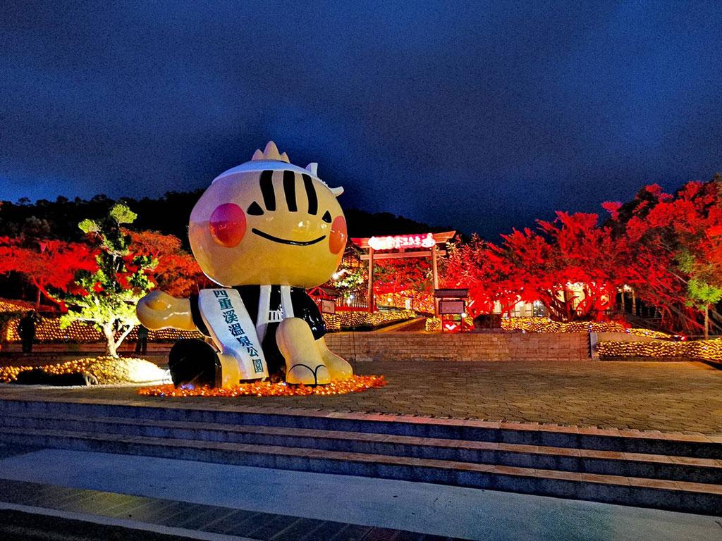 四重渓温泉季-マスコット  年度:2019  写真提供:屏東県政府