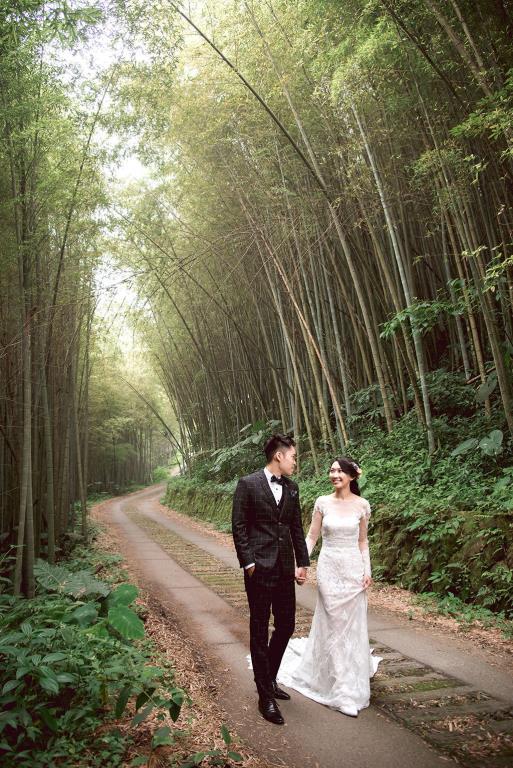 ロマンチック阿里山神木ウェディング  年度:2018  写真提供:阿里山国家風景区管理処