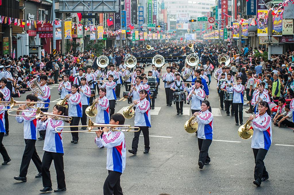 日本安城学園高等学校吹奏楽部  年度:2019  写真提供:嘉義市政府