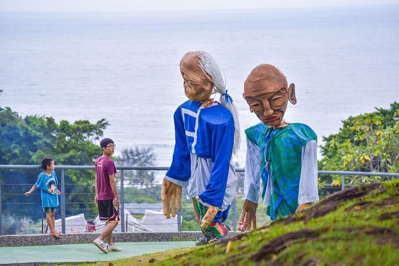 ガドゥマヤンから来たの長老  年度:2019  写真提供:交通部觀光局東部海岸国家風景区
