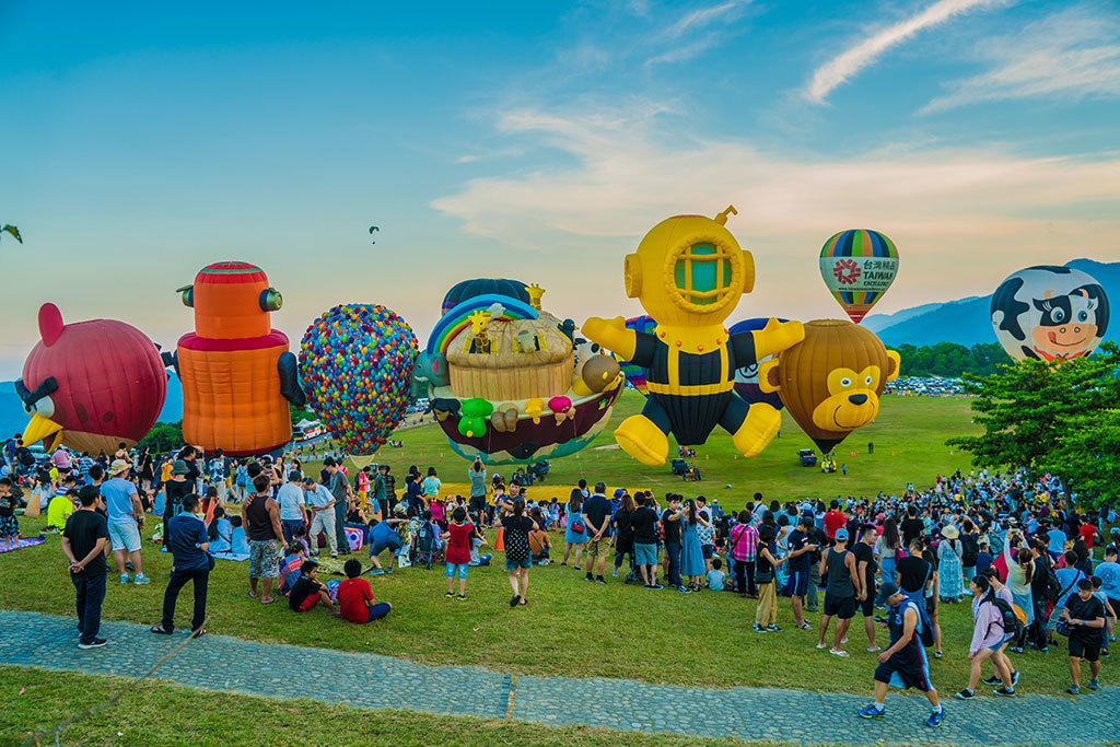 シェイプバルーン  年度:2018  写真提供:台東県政府