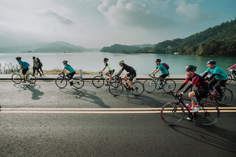 日月潭Come!Bikeday自転車カーニバル  年度:2019  写真提供:日月潭国家風景区管理処