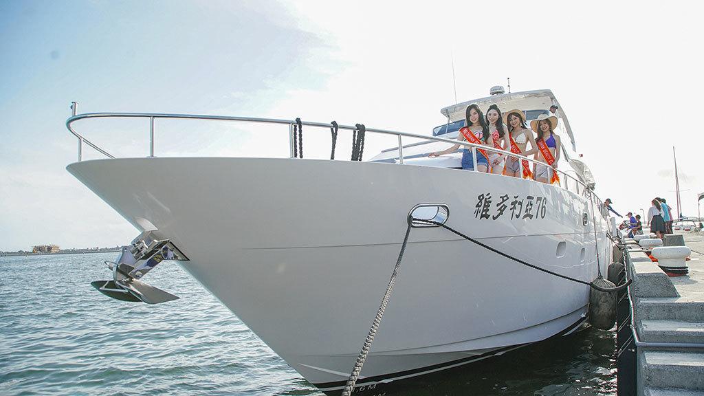 「維多利亞76ダイビング専門豪華ヨット」の展覧会  年度:2018  写真提供:大鵬湾国家風景区管理処