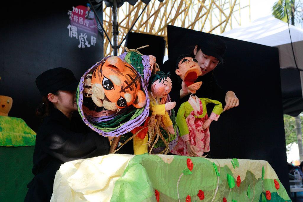 韓国卡奇東劇団演出  年度:2017  写真提供:雲林県政府文化処