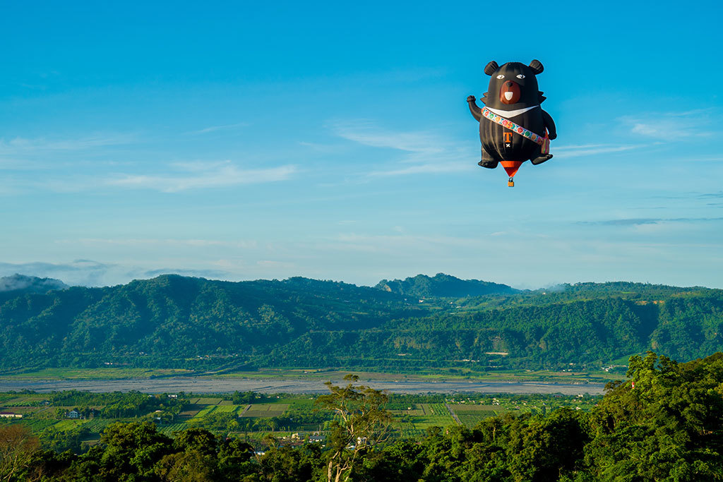 オーベアバルーン  年度:2018  写真提供:台東県政府