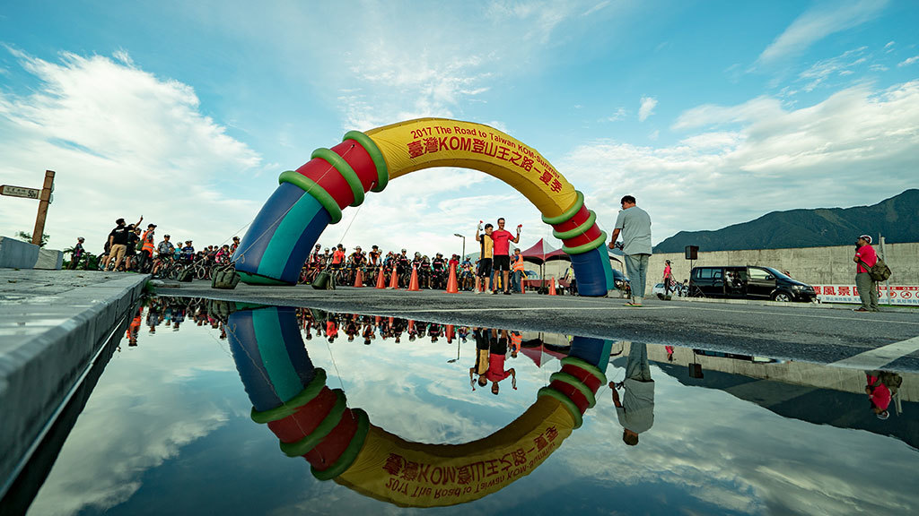 台湾 KOM チャレンジ - 夏季  年度:2017  写真提供:交通部観光局