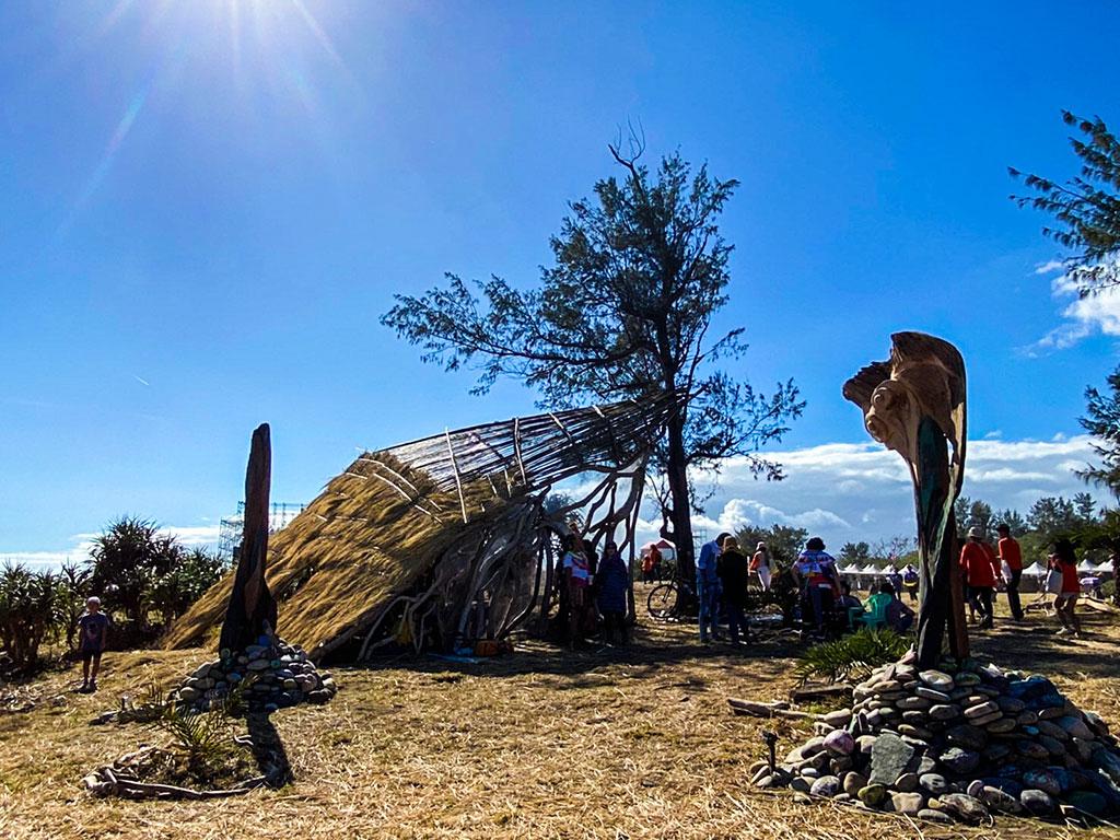 作品「Masi'ac」  年度:2019  写真提供:交通部觀光局東部海岸国家風景区