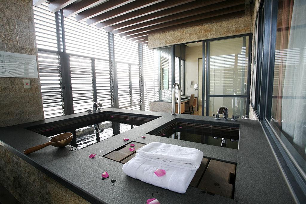 谷關温泉の個室風呂  写真提供:参山国家风景区管理处