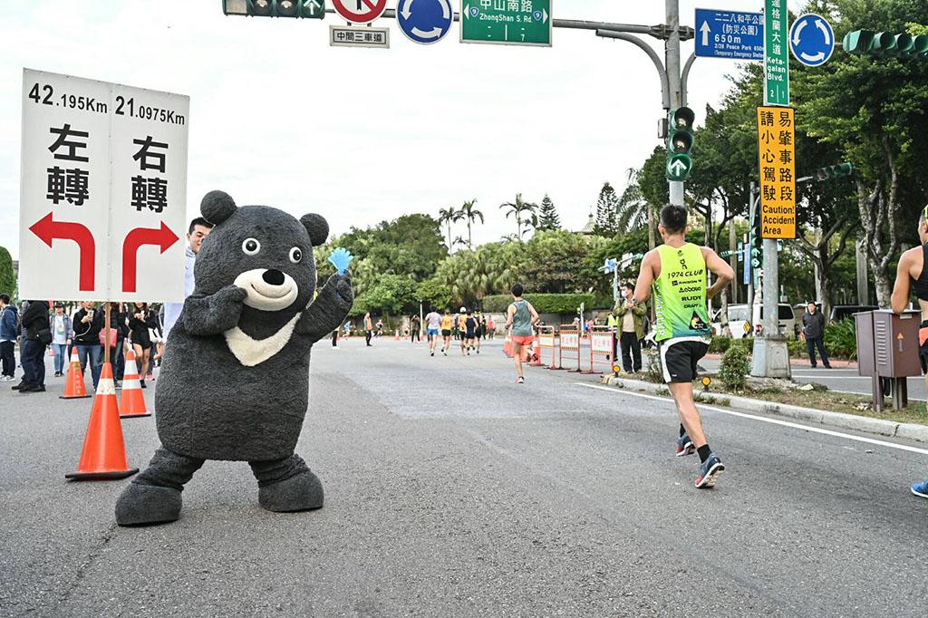 台北市マスコット「熊讃」  年度:2019  写真提供:台北市政府体育局