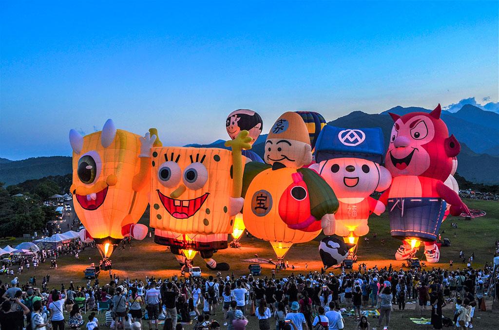 鹿野高台 - 光彫  年度:2019  写真提供:台東県政府