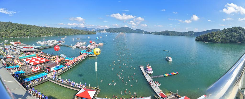 遠泳大会  年度:2019  写真提供:南投県政府