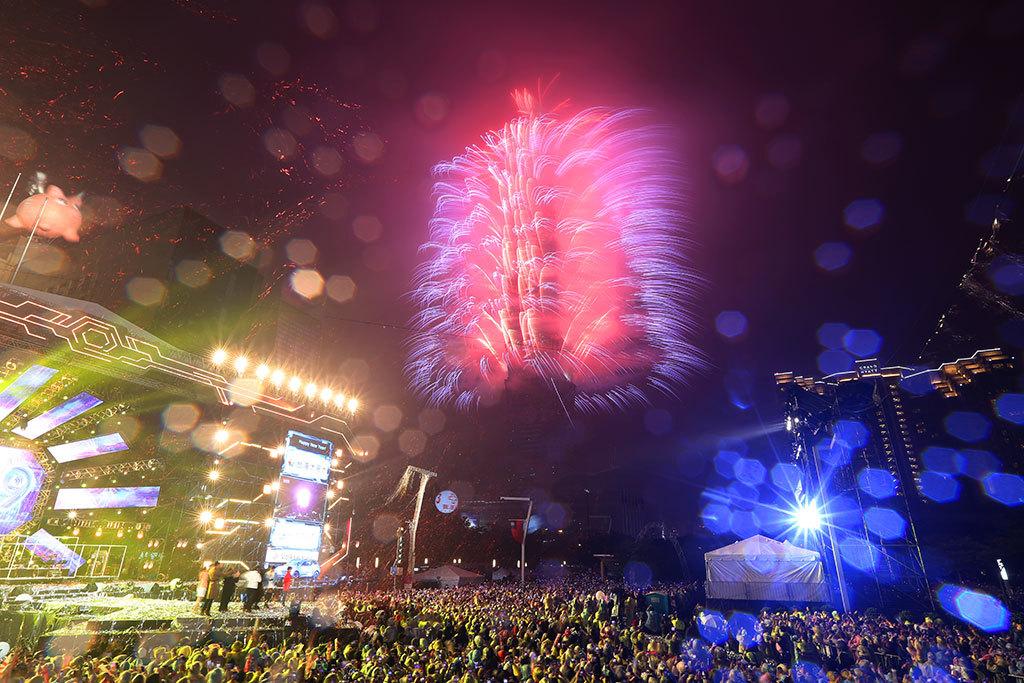 台北101カウントダウン花火  年度:2018  写真提供:台北市政府観光伝播局