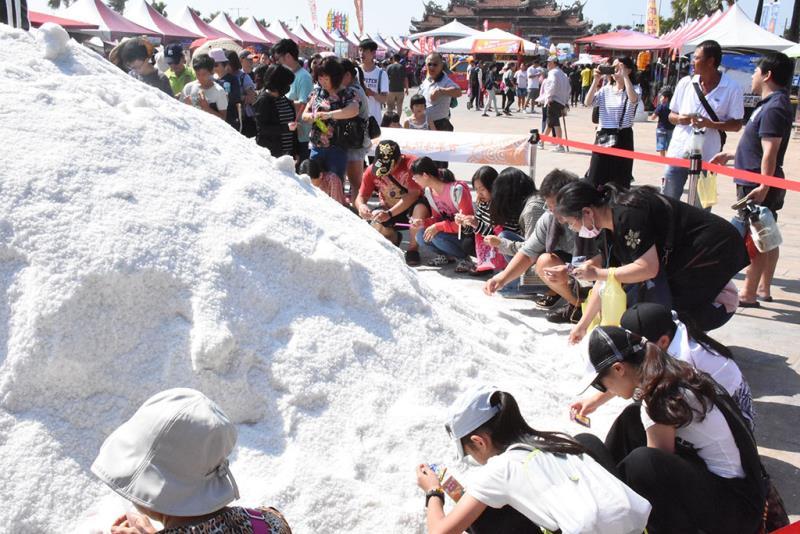 鯤鯓王平安塩祭  年度:2019  写真提供:雲嘉南浜海国家風景区管理処