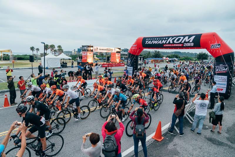 台湾 KOM チャレンジ  年度:2019  写真提供:中華民国自行車騎士協会