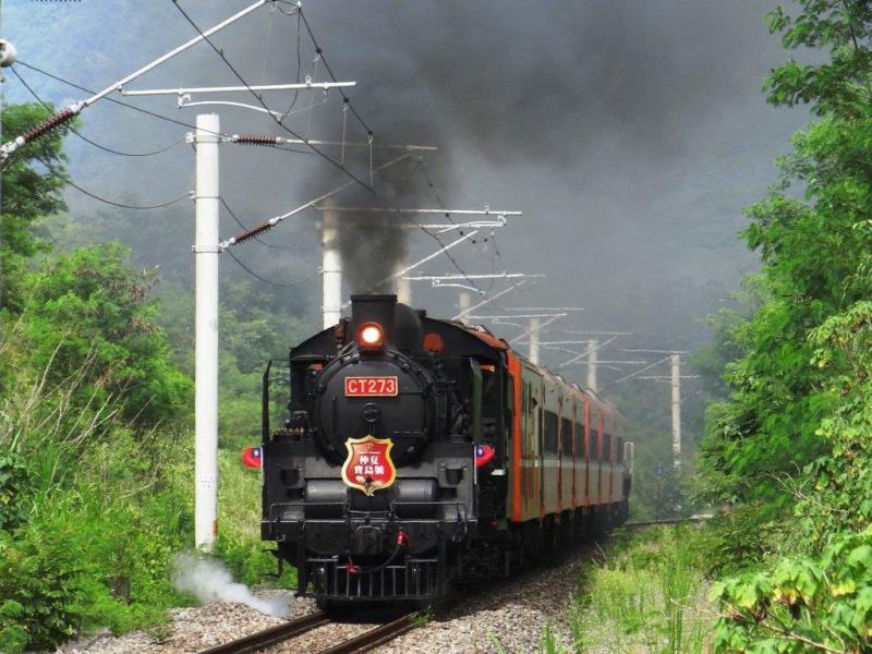 仲夏宝島号  写真提供:台湾鉄路管理局