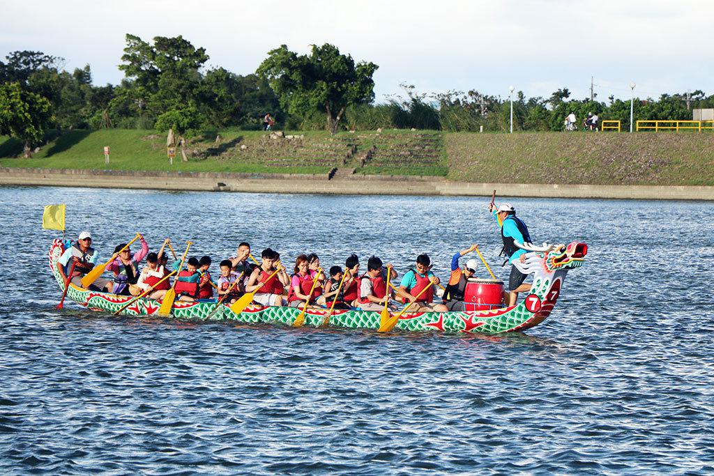 川エリア-ドラゴンボート体験  年度:2018  写真提供:宜蘭県政府文化局
