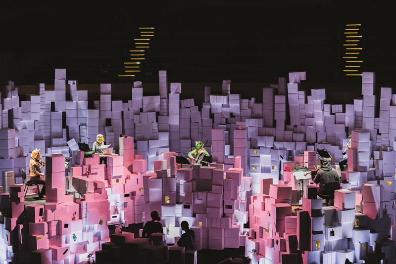 柏林新音楽室内楽団《立体鏡》  年度:2019  写真提供:文化部