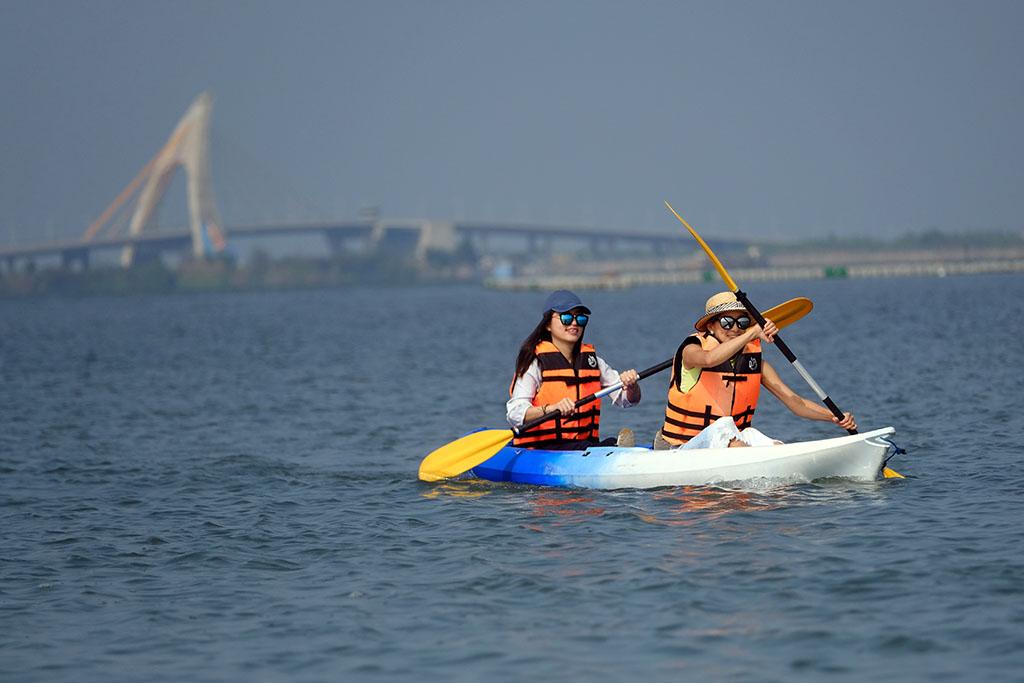 大鵬湾カヌー体験  年度:2018  撮影者:陳逸宏  写真提供:大鵬湾国家風景区管理処